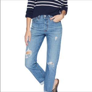 Levi's High Waisted & Straight Leg 501 Jeans